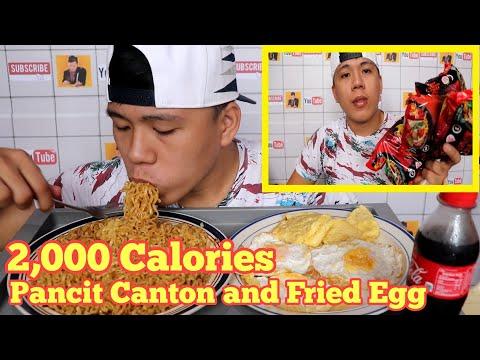 pancit-canton-with-fried-egg-mukbang-|-2,000-calories-|-pinoy-mukbang-|-philippines-mukbang