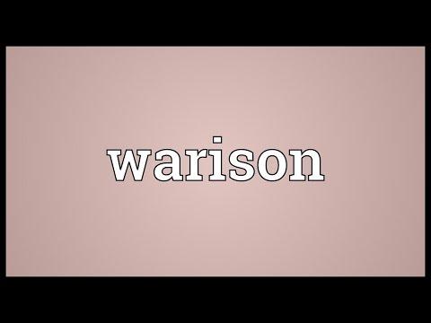 Header of warison
