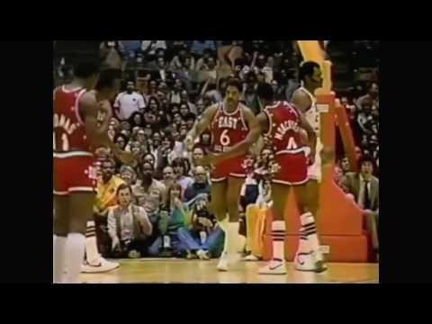 Julius Erving - 1983 NBA All-Star MVP Highlights