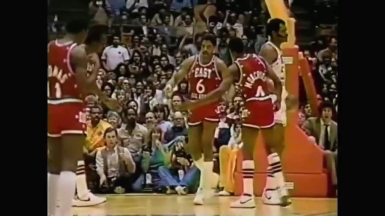 Julius Erving - 1983 NBA All-Star MVP Highlights - YouTube