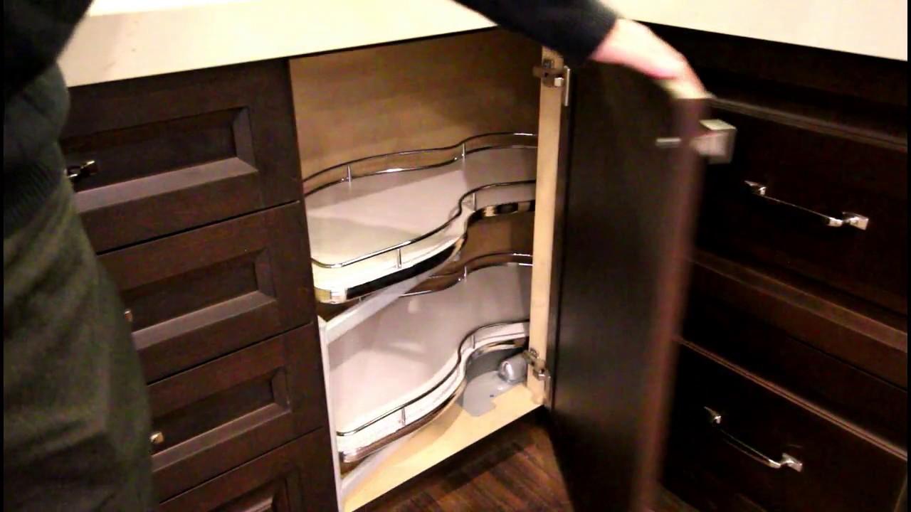 Corner Cabinet Ideas Norcab Kitchen  Millwork  YouTube