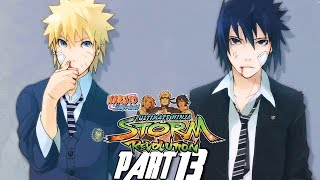 naruto shippuden ultimate ninja storm revolution walkthrough part 13 gameplay xbox 360