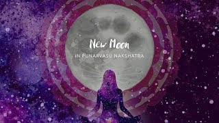 New Moon in Punarvasu and Partial Solar Eclipse - 12/13 July 2018