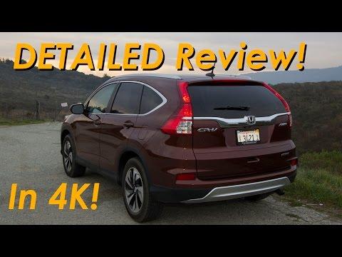 2015 Honda CR-V Crossover Review DETAILED! - In 4K