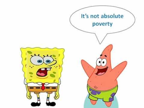 Absolute and Relative Poverty