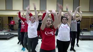 WI Singers rehearse Thoroughly Modern Millie