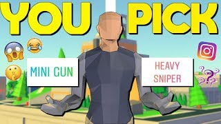 My Instagram Followers Picked My Loadout For A Day (Strucid Roblox)