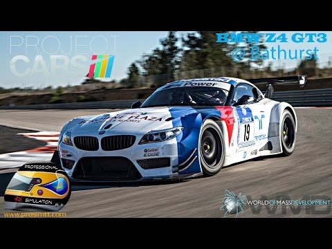 ✅PROJECT CARS: BMW Z4 GT3 at Bathurst (Mount Panorama Circuit)