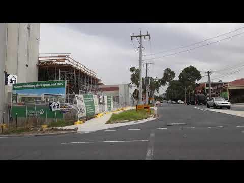 Heidelberg Woolworths Under Construction, Melbourne