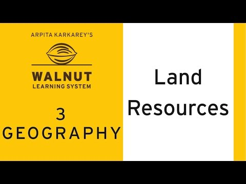 3 Geography - Land Resources