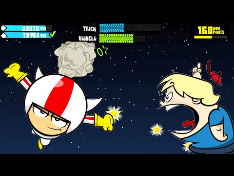 Игра Кик Бутовский Запуск   Loco Launcho Kick Buttowski