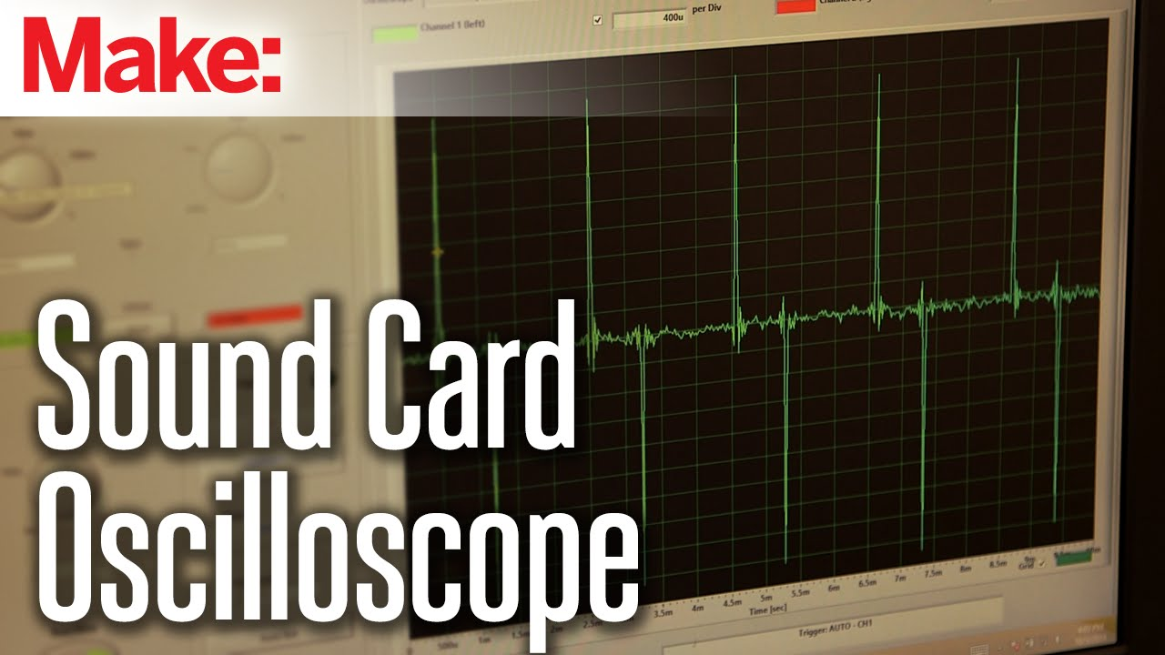 Best Oscilloscope For Audio : Weekend projects sound card oscilloscope doovi