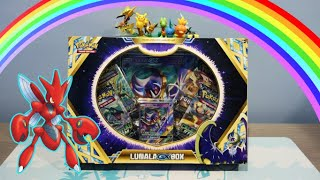 RAINBOW POKEMON CARD! Lunala GX Box Opening