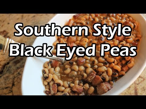 Southern Style Black Eyed Peas | Chef Lorious