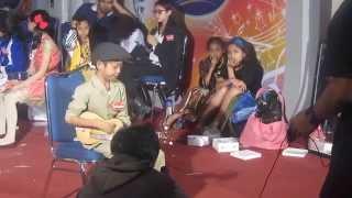 Farizal berAksi di Idola Junior