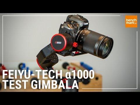 Feiyu-Tech A1000 - test gimbala