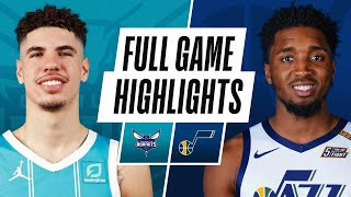 HORNETS at JAZZ | FULL GAME HIGHLIGHTS | February 22, 2021