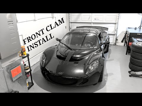 "MITCH DORE | How To Install LOTUS ELISE/EXIGE Front Clam ""Bolt By Bolt"""