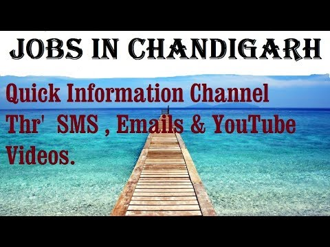 JOBS in CHANDIGARH       for Freshers & graduates. Industries,  companies.