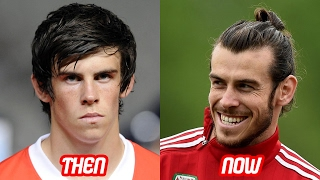 Gareth Bale Transformation Then And Now (Face & Body & Moth & Chin)   2017 NEW