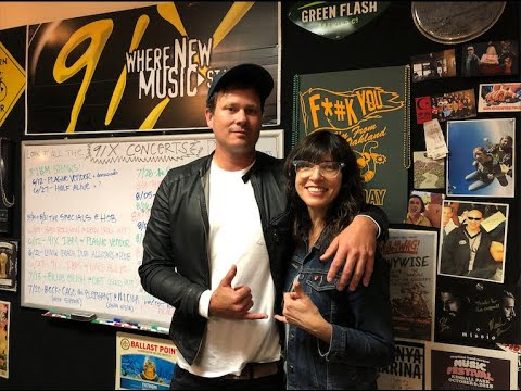 Tom Delonge Stops By 91X to Talk New AVA, To the Stars, Blink 182 & More