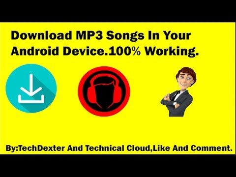 How To Download MP3 Songs In Android Device [Urdu/Hindi] By TechDexter