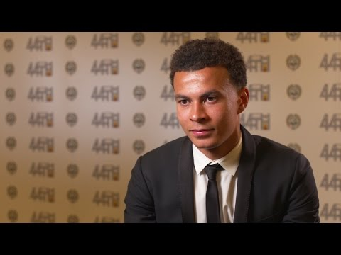 Dele Alli Interview After Winning Men's PFA Young Player of the Year