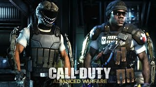 call of duty advanced warfare multiplayer gameplay started on fire earned goliath kill confirmed