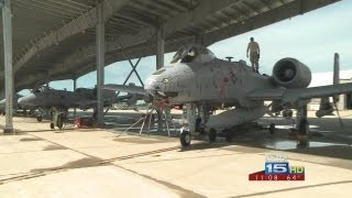 Sequestration has impacted 122nd Fighter Wing
