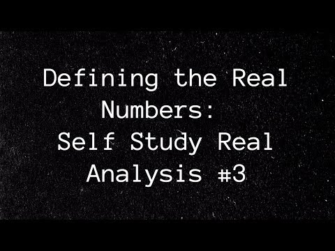 Real Numbers Axiomatically Defined, the  Roots Theorem, and Dedekind Cuts ~Real Analysis #3