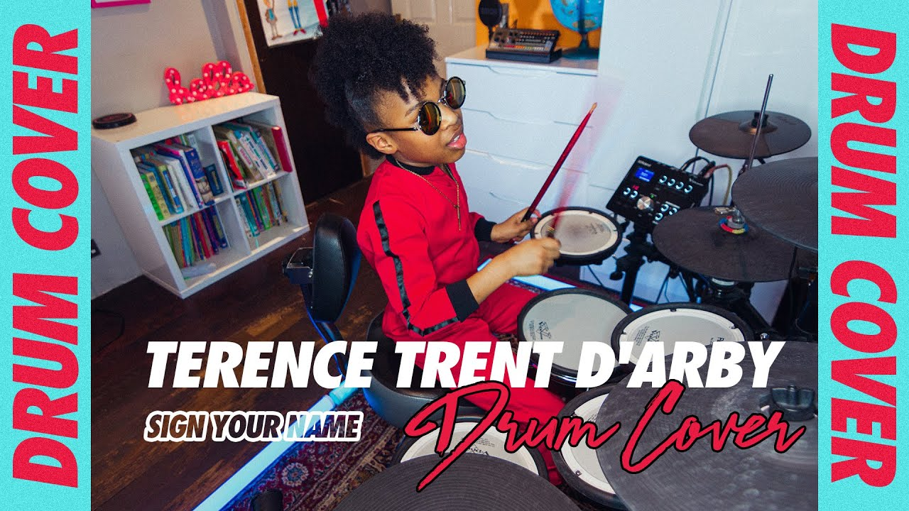 Download Terence Trent D'Arby - Sign Your Name | Drum Cover | Geneva London (Age 9)