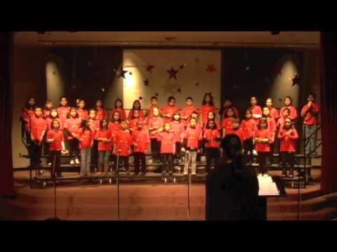 Tom Matsumoto Elementary School Musical Mustangs! Chorus Concert 2010- Shake the Papaya Down