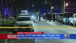 Family Of Adam Toledo To View Body Cam Video Next Week
