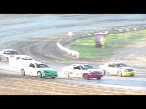 Dacotah Speedway IMCA Sport Compact A-Main (8/11/17)