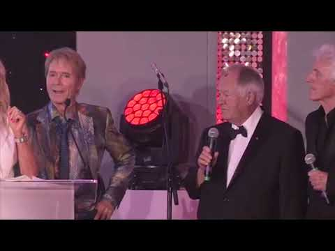 Cliff Richard's 60 years in show business are honoured by Variety, the Children's Charity