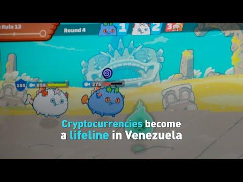 Cryptocurrencies become a lifeline in Venezuela