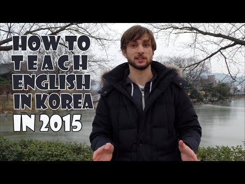 Teaching English In Korea In 2015: How I'd Do It