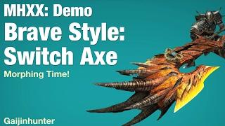 MHXX Demo: Brave Switch Axe