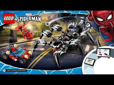 LEGO instructions - Super Heroes - 76163 - Venom Crawler
