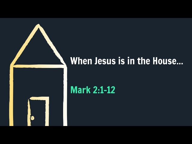 When Jesus Is In The House!