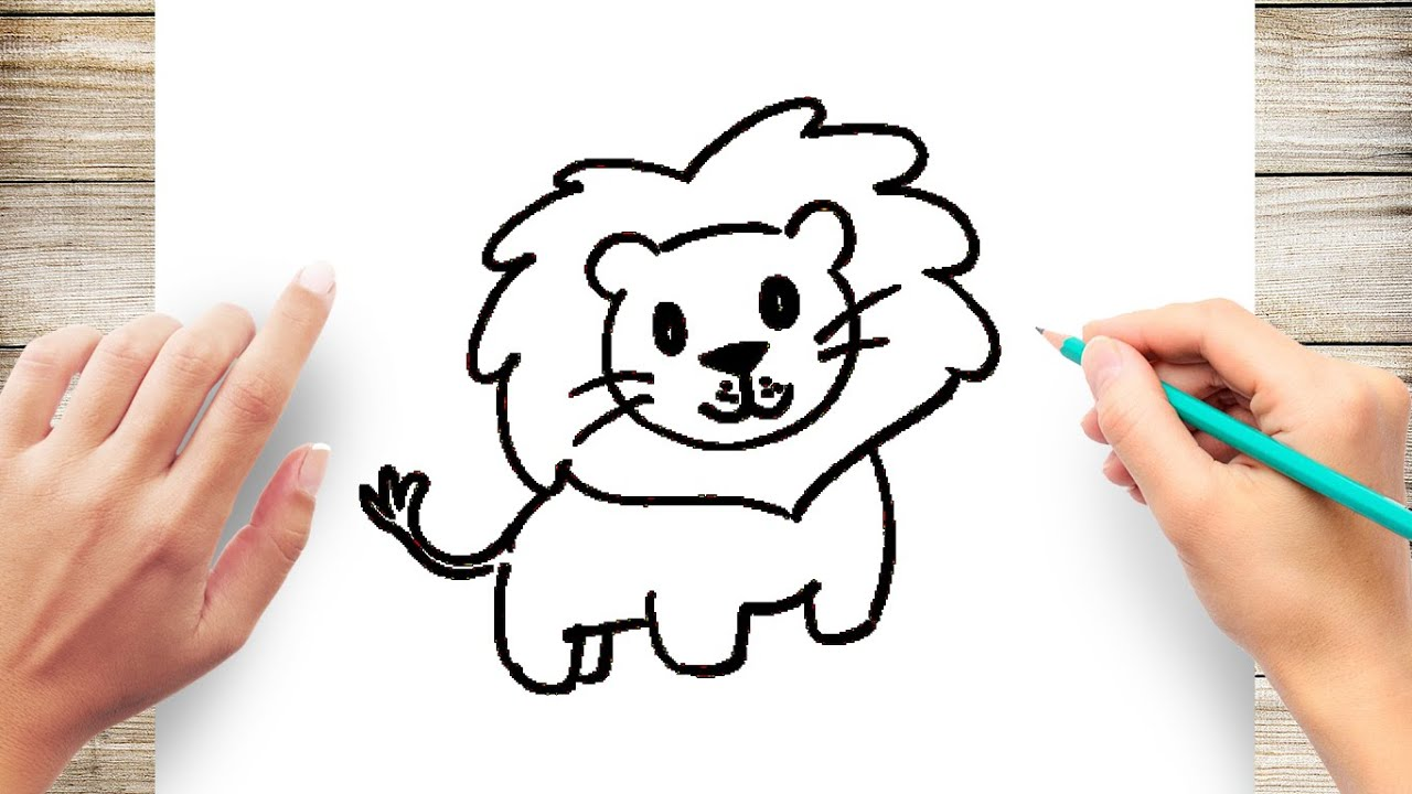 How to Draw Lion Step by Step Easy
