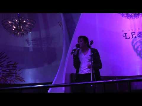 """Billie Jean"" By Jeffrey Perez(Michael Jackson Impersonator) @ Ristorazione LE G.A"