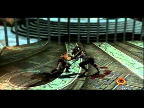 God of War 3 Walkthrough guia CAOS Cerberus Breeder y Satiros 16/18
