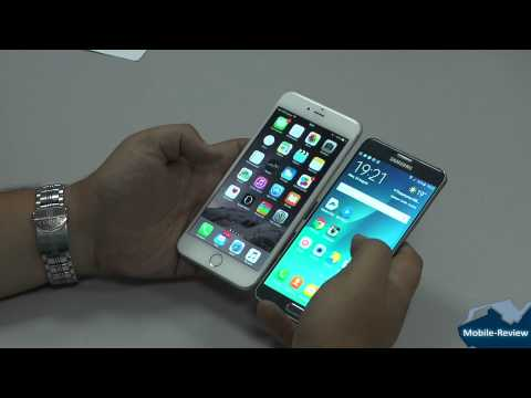 Сравнение Samsung Galaxy Note 5 и Apple iPhone 6 Plus