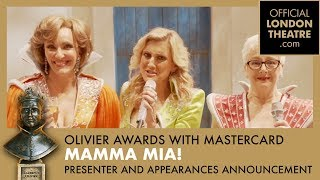 Mamma Mia presenter and appearances announcement for the Olivier Awards 2019