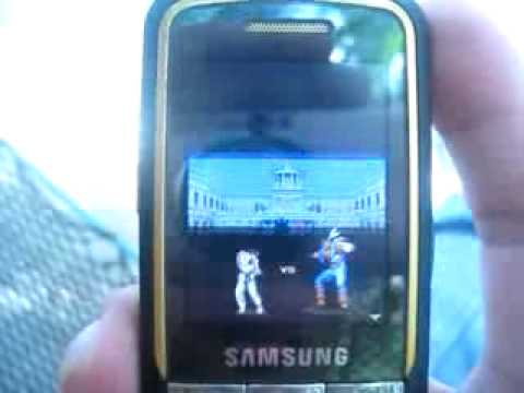 Super Street Fighter II in Samsung Beat M3510
