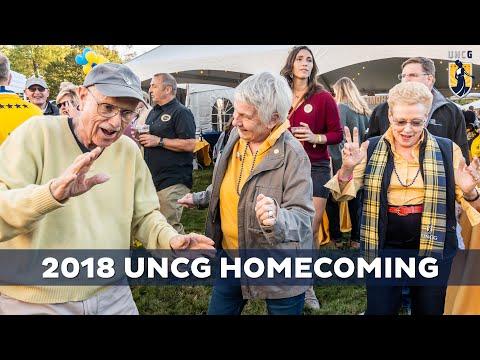Highlights: UNCG Homecoming 2018