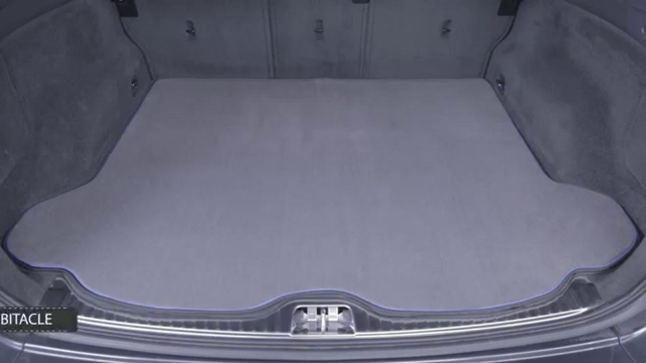 notre gamme de tapis de coffre sur mesure en video tailleurauto com