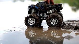 Машинки в грязи. Мойка машин. Монстер трак. Трактор. Гоночная машина. Джип(В городе прошел сильный дождь и все дороги полны луж. Но в некоторых местах появилась куча грязи. По этой..., 2016-09-29T03:00:01.000Z)