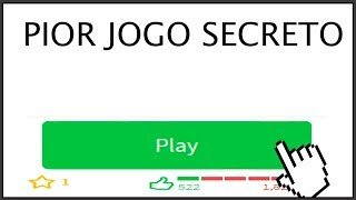 ROBLOX'S MOST HATED SECRET GAME